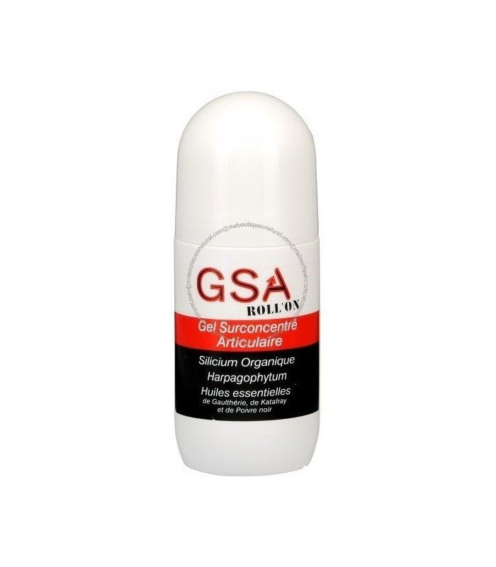 Gel Surconcentré Articulaire GSA Roll-on - Aquasilice