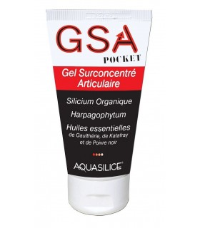 Gel Surconcentré Articulaire GSA Pocket - Aquasilice