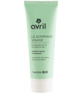 Le Gommage Visage - Avril