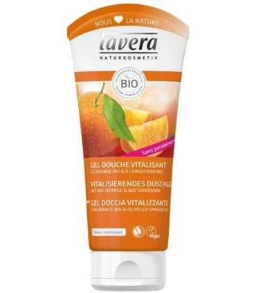 Gel Douche Revitalisant à l'Orange - Lavera