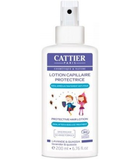 Lotion Capillaire Protectrice Anti-Poux - Cattier