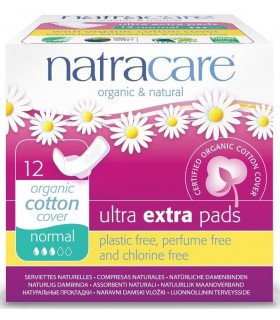 Serviettes Ultra Extra Pads Regular x 12 - Natracare