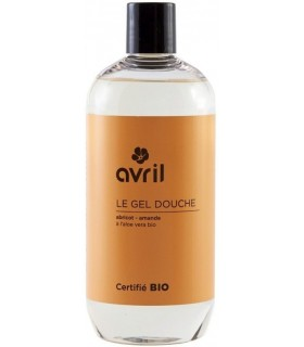 Gel Douche Abricot & Amande 500 ml - Avril
