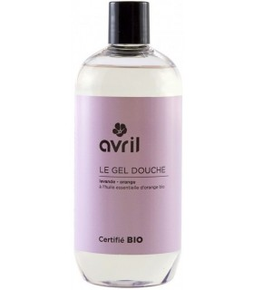 Gel Douche Lavande & Orange 500 ml - Avril